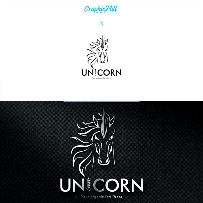 Logo firmy unicorn your organic fertilizers